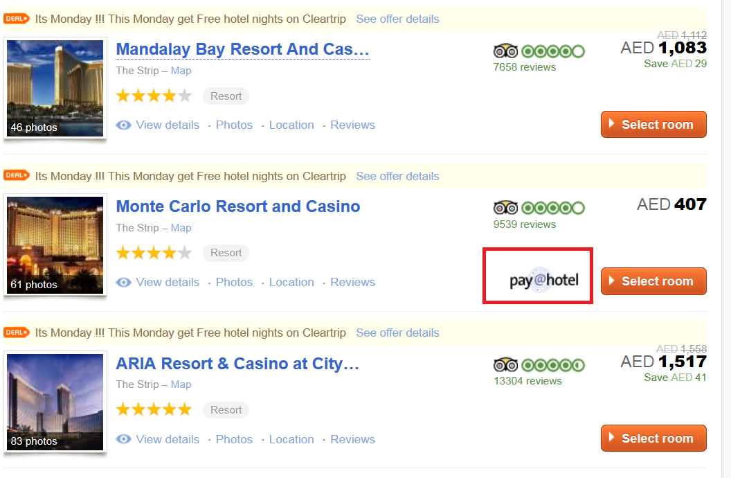 Cleartrip hotel discount coupon