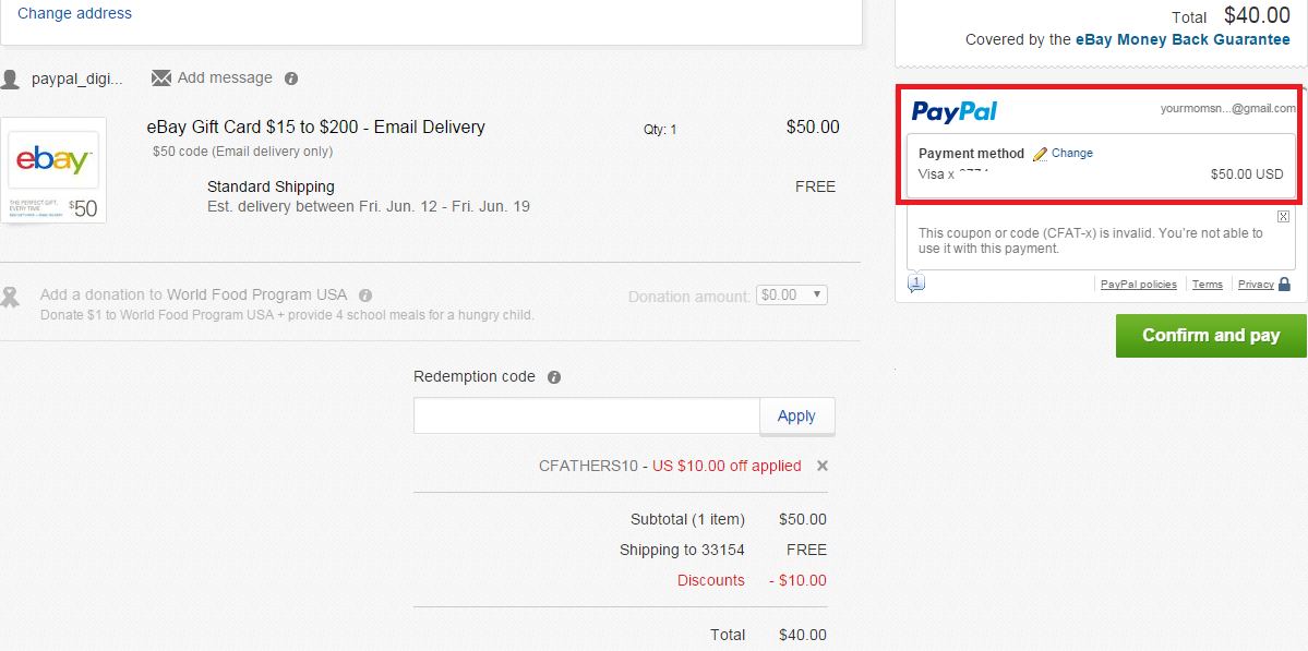 Get $10 Off $50+ Purchases Sitewide On eBay! $50 eBay Gift Card ...