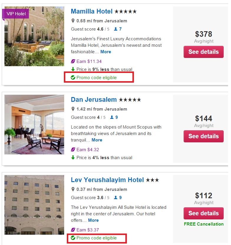 Orbitz hotel coupon code