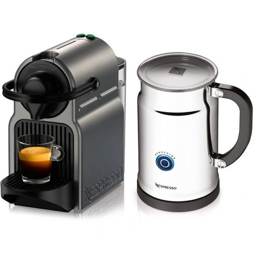 includes aeroccino plus milk frother rapid one touch preparation of hot or cold milk froth items sold separately valued at 229 - Nespresso Frother