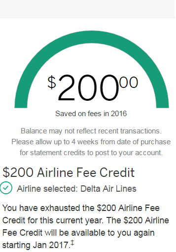 Here Are The Ways You Can Spend Your AMEX Airline Fee Credit