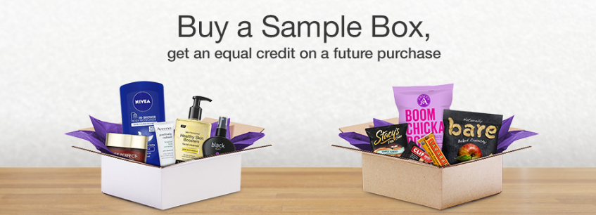 Amazon Prime Members: Beauty, K-Cups, Grooming, Aveeno, Sun Care, And More Sample Boxes On Sale From Amazon With 100% Back In Category Credit