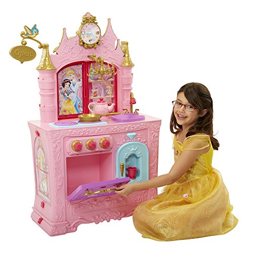 Kitchen Set Royal: Disney Princess Royal 2-Sided Kitchen & Cafe For Just $25
