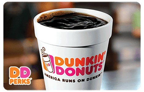 Save 25.2% Plus An Additional 5% Off Dunkin' Donuts Gift Cards ...