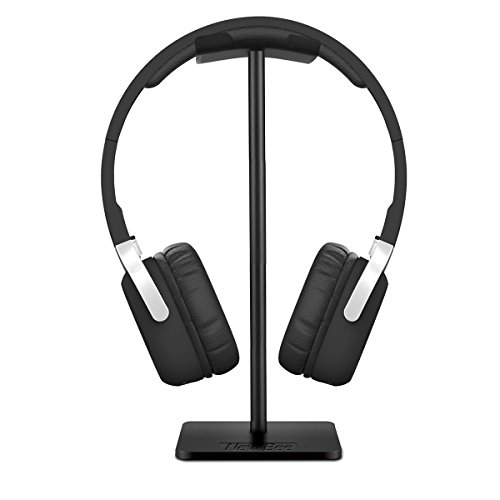 aluminum headphones stand for shipped from amazon plus no rush shipping credit for prime. Black Bedroom Furniture Sets. Home Design Ideas
