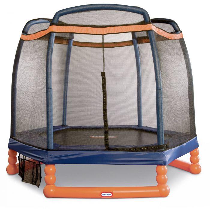 Walmart Outdoor Toys : Little tikes indoor outdoor trampoline with enclosure