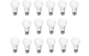 Philips 16 Pack Of LED 60-Watt Daylight Or Soft White Light Bulbs For $19.28-$20.70 Shipped From Amazon