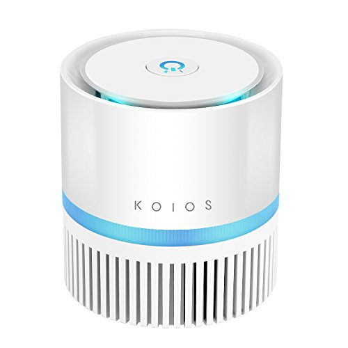koios desktop air purifier with true hepa filter for $39.59 shipped ...