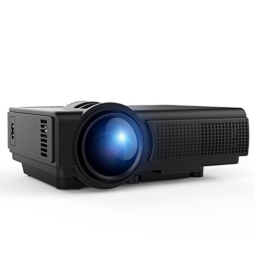 Tenker led 1080p multimedia home theater mini projector for Pocket projector deals