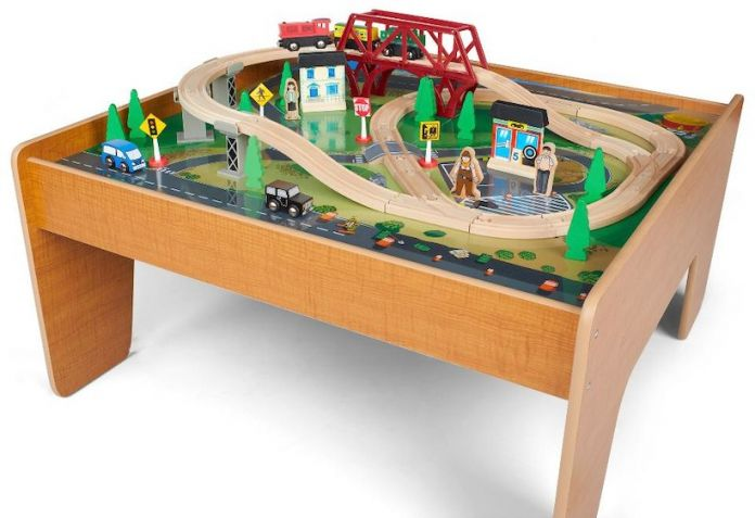 Imaginarium 55-Piece Train Set With Table For $39.99 Shipped From ...