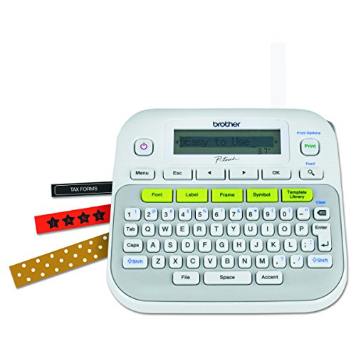 Brother P Touch Pt D210 Label Maker Just 9 99 Reg 39 99: Brother P-Touch PT-D210 Label Maker For $9.99 From Amazon