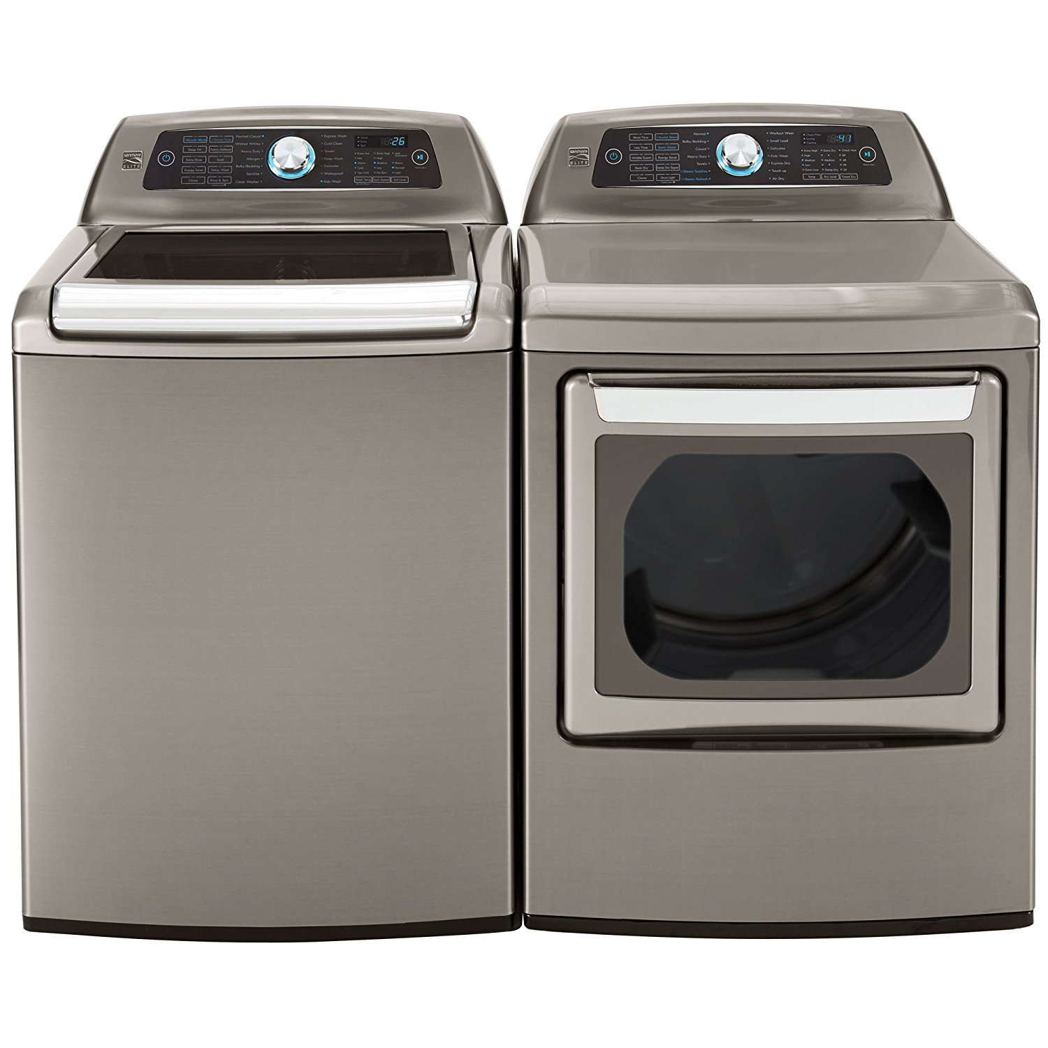 Shop the best washer & dryer deals of the season at Sears. Simplify laundry day with standalone washers, dryers, all-in-one units and other equipment. Having a washer and dryer in your home makes laundry simple. You won't have to haul large loads of clothes to the Laundromat or fight to get the free machine in a shared laundry room.