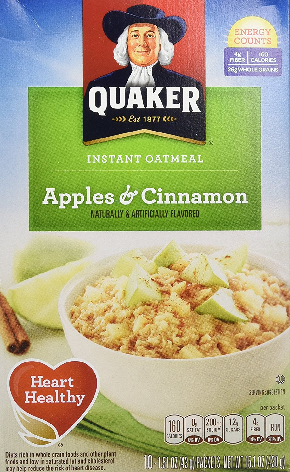 Quaker instant oatmeal coupons 2018