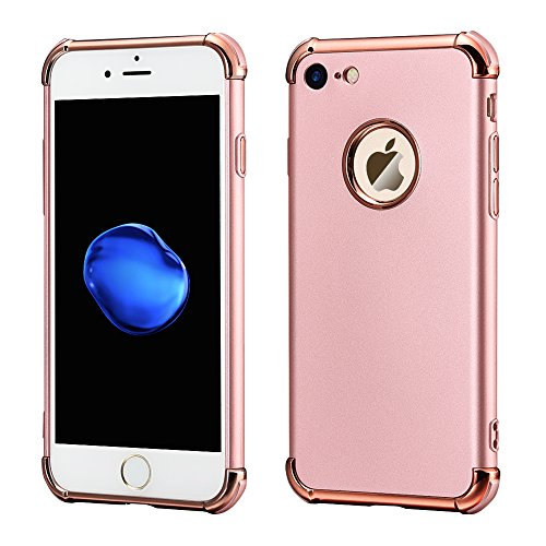 wholesale dealer 889c9 681d2 iPhone 7 or 7 Plus Silicone Rose Gold Case For $0.99 From Amazon ...