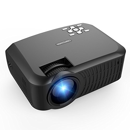 Dbpower t22 upgraded lcd mini portable projector home for Pocket projector deals