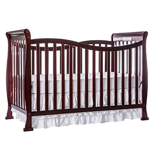 Crib Toddler Bed Mattress Rail Dream On Me Violet