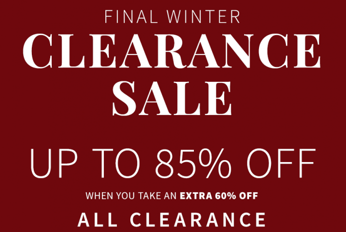 8cede12d6 Save Up To 85% Off Jos. A. Bank Clearance Sale: 100% Cashmere ...