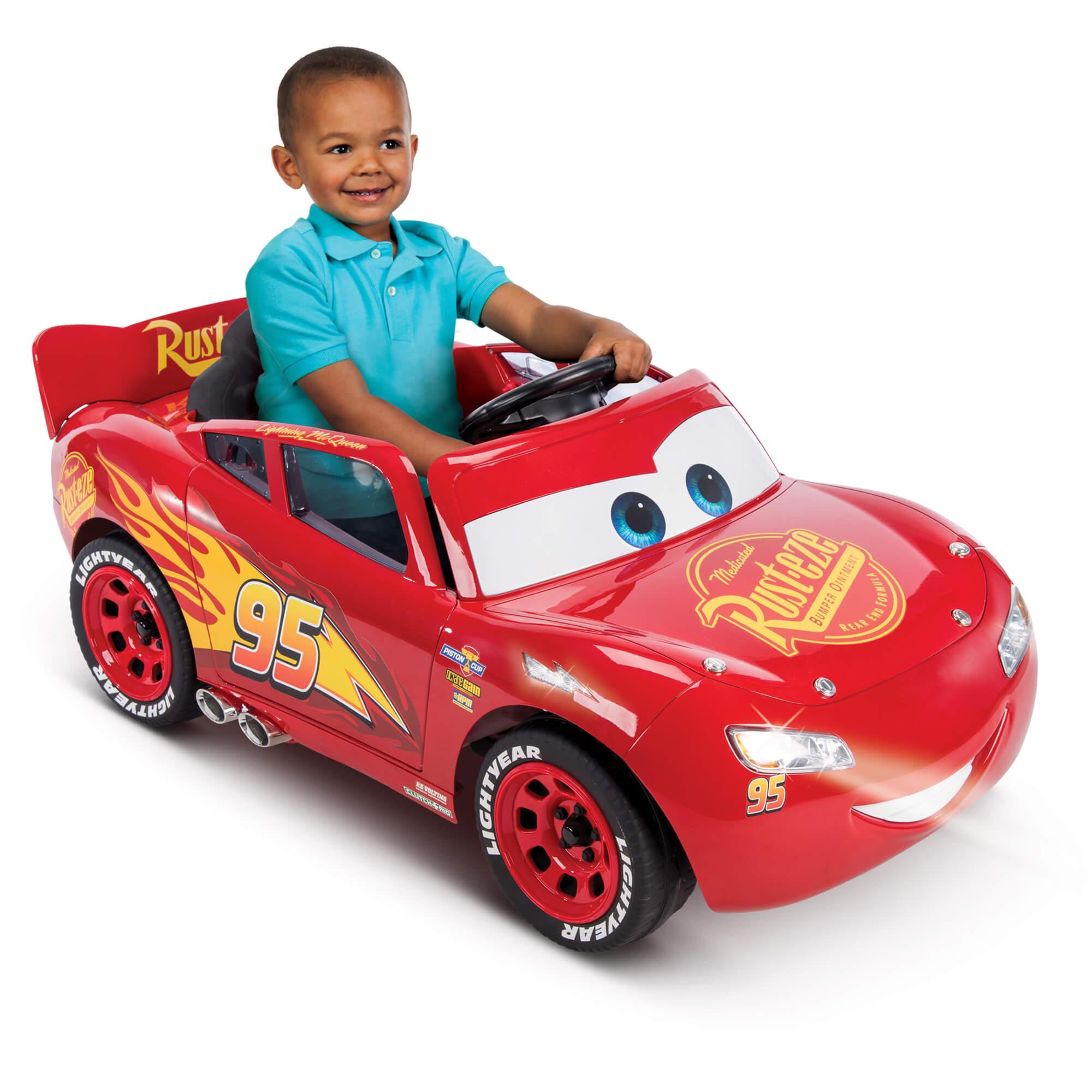disney pixar cars 3 lightning mcqueen 6v battery powered ride on for 79 shipped from walmart. Black Bedroom Furniture Sets. Home Design Ideas