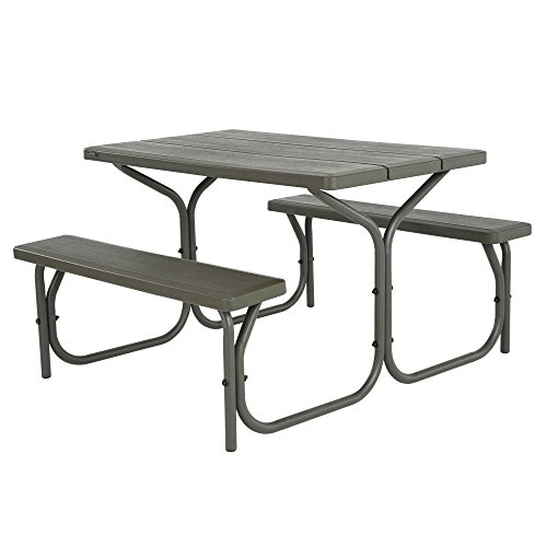 Today Only Lifetime Foot Picnic Table For And Oz Double - Stainless steel picnic table