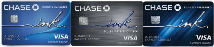 Business credit cards archives dansdeals a chase ink preferred ink cash or ink unlimited card with 500 800 or 50k 80k bonus points heres a comparison chart with business credit cards reheart Image collections