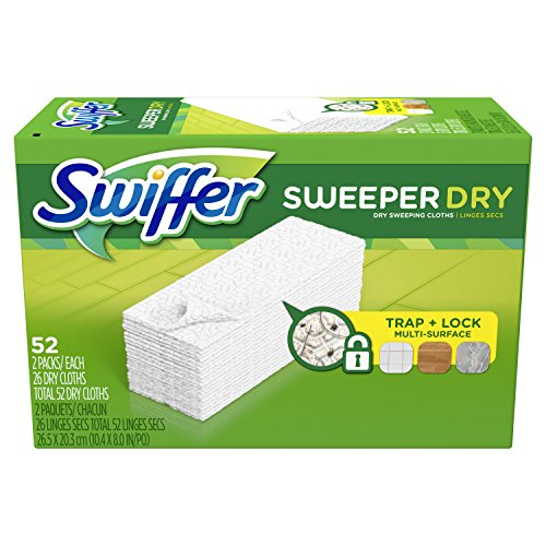 52 Swiffer Sweeper Dry Sweeping Pads For Just 2 39