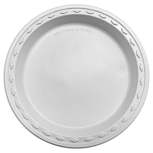 500 Simply Deliver Microwavable 9\u2033 Plastic Plates For Just $22.32 From Amazon!  sc 1 st  DansDeals & 500 Simply Deliver Microwavable 9\