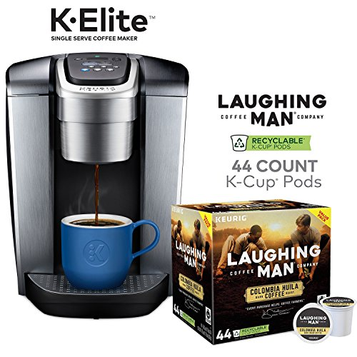 Keurig K Elite Single Serve Coffee Maker And 44 Laughing