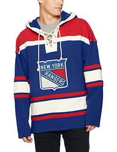 OTS NHL Mens Grant Lace Up Pullover Hoodie