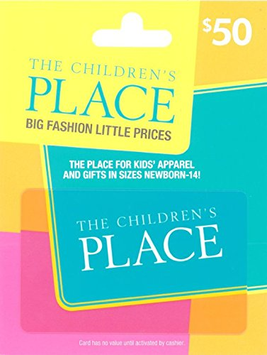 Amazon Lightning Deal The Children S Place 50 Gift Card For 40