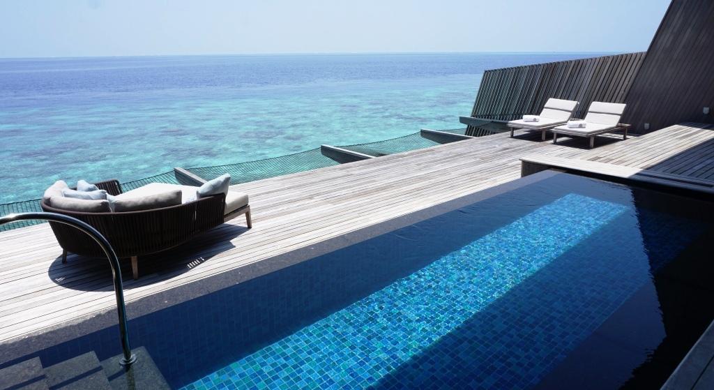 S Regis Maldives Sunset Overwater Villa March
