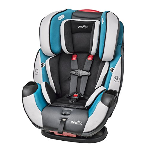 Evenflo Symphony DLX All In One Convertible Car Seat For 8999