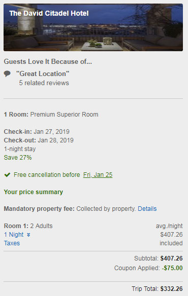 how to use expedia points to book hotel