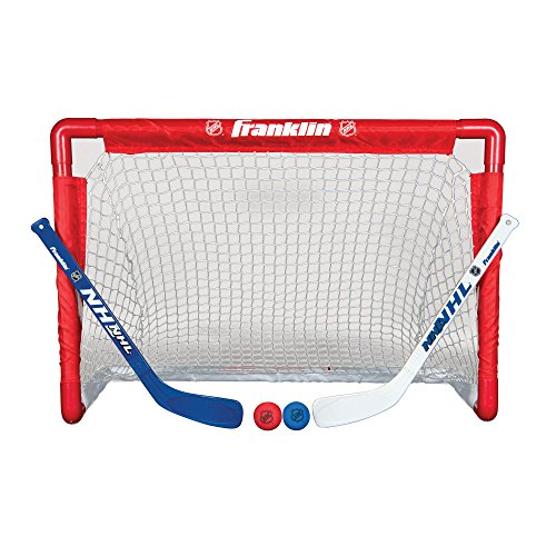 Franklin Nhl Street Hockey Goal With Stick And Ball Set For 10 62