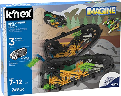 112ecb65d25 Add-On Item: K'NEX Imagine 4WD Crusher Tank 249 Piece Building Set For Just  $5.78 And More Toys On Sale From Amazon!