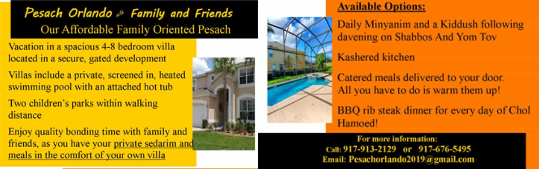 Affordable Pesach Vacation In Orlando – On Your Terms! - DansDeals com
