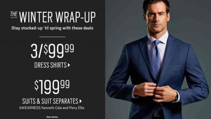 ff86fc0a1020 3 Dress Shirts For Just  99 Shipped From Men s Wearhouse And More On Sale