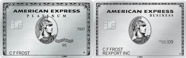 Amex Consumer Vs Business Platinum Card Benefit Comparison Chart