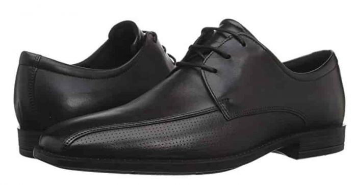 ecco mens black dress shoes