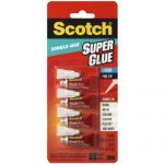 4 tubes of scotch super glue for shipped from amazon plus prime no rush shipping. Black Bedroom Furniture Sets. Home Design Ideas