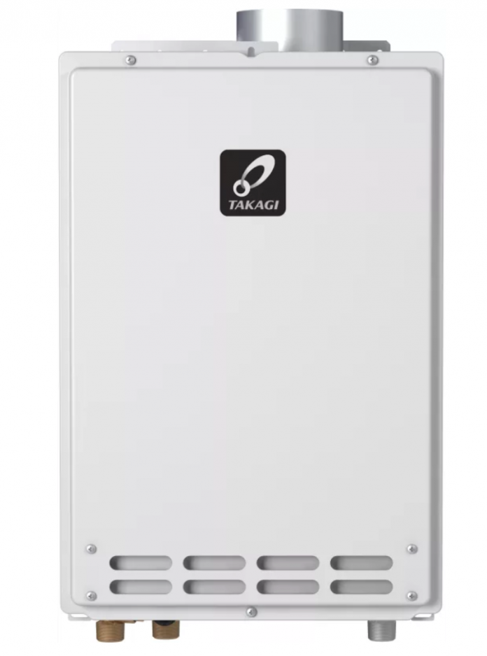 Takagi 8 0 Gpm Natural Gas Indoor Tankless Water Heater