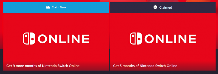 Ends Tomorrow Get 12 Months Of Nintendo Switch Online Free For Amazon Prime Members Dansdeals Com