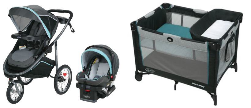 Graco Modes Jogger Click Connect Travel System Gliding