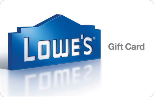 100 Lowe S Gift Card For 90 And More Gift Cards Via Ebay Daily Deals Dansdeals Com