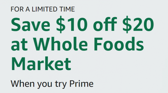 Signup For An Amazon Prime 30 Day Free Trial And Get A $10