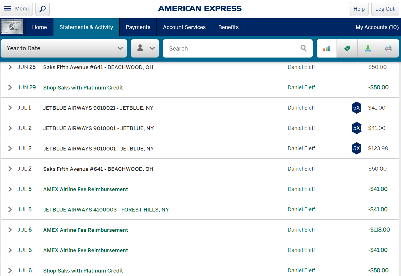 Here Is How I Used My 2019 AMEX Airline Fee Credit, How Will