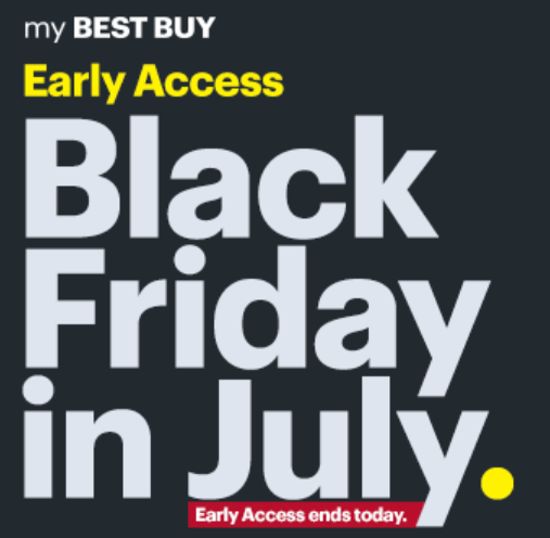 Best Buy Black Friday In July Early Access Sale Is Live Save On Laptops Ipad Gift Cards Nosefrida And More Dansdeals Com