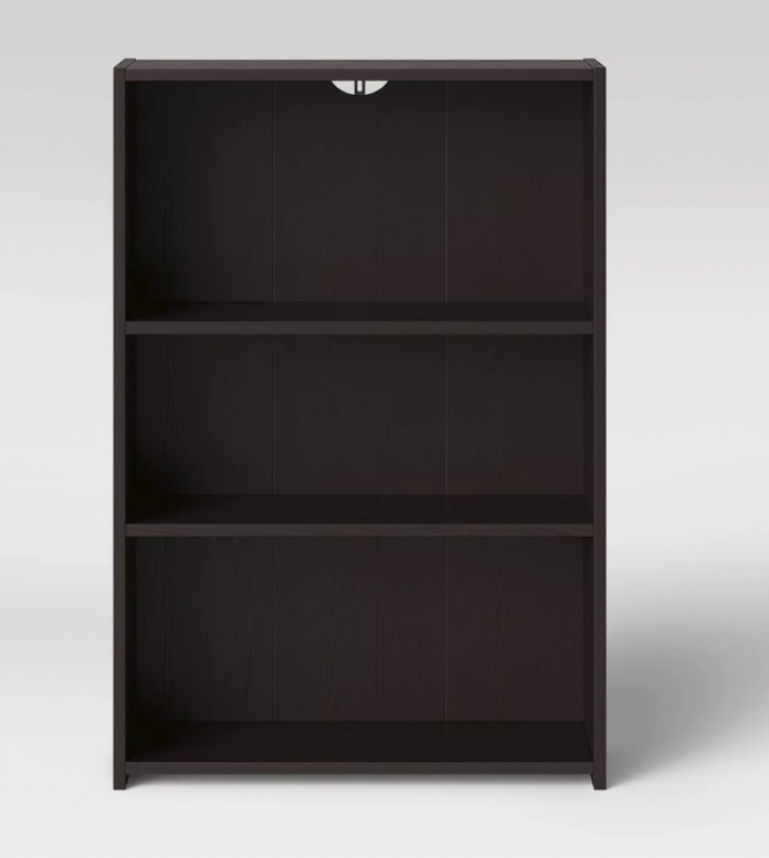 Target Furniture 2 Three Shelf Bookcases For 21 98
