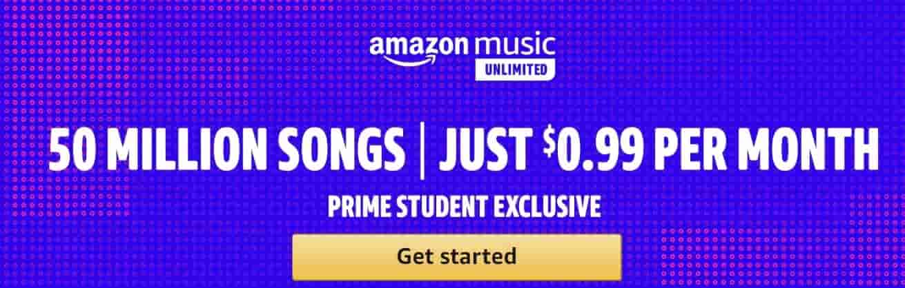 Great New Benefit For Prime Students: Amazon Music Unlimited For