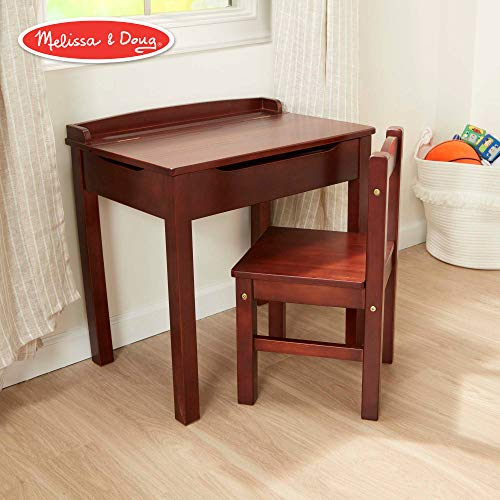 Melissa And Doug Child S Lift Top Desk And Chair For 48