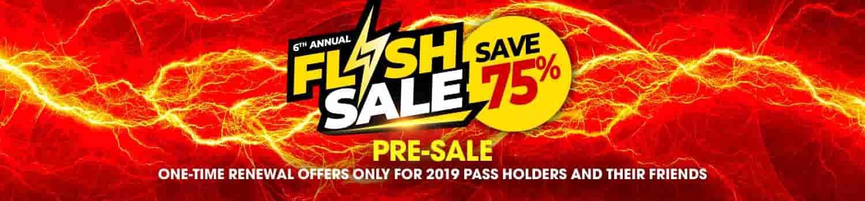 Six Flags Annual Season Pass 75 Off Flash Sale Dansdeals Com